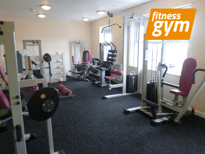 Fitness equipment at In Trim - on Ridgeway Road, Sheffield