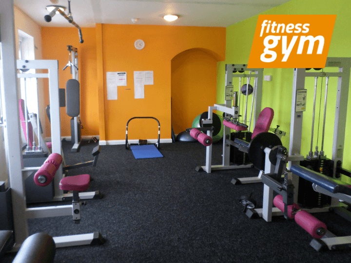 Free weights area at In Trim - on Ridgeway Road, Sheffield