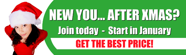 NEW YOU... AFTER XMAS? Join today - Start in January. Get the best price!